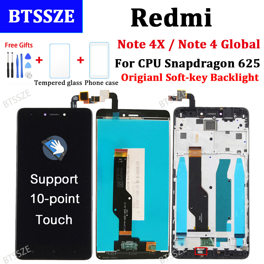 for xiaomi redmi note 4x note 4 global version lcd. Black Bedroom Furniture Sets. Home Design Ideas