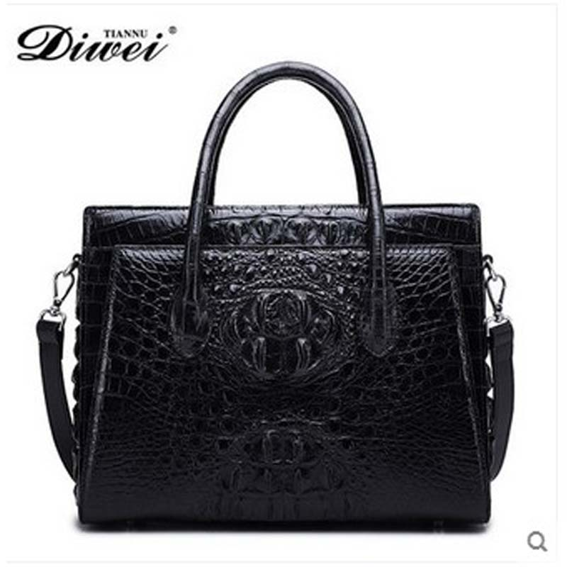 diwei 2018 new hot free shipping really crocodile women handbag fashion leisure single shoulder  women bag fashion female bag yuanyu 2018 new hot free shipping crocodile women handbag wrist bag big vintga high end single shoulder bags luxury women bag