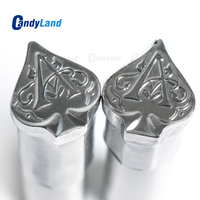 CandyLand Spade A Milk Tablet Die 3D Pill Press Mold Candy Punching Die Custom Logo Calcium Tablet Punch Die For TDP Machine