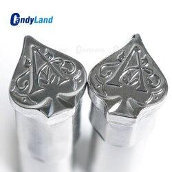 CandyLand Лопата таблетка для молока 3D таблетка пресс-форма конфеты штамповка под заказ логотип кальция таблетка штамповка для TDP машины