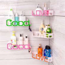 1PCS bathroom shelf vanity toilet sucker storage wall-hanging suction wall type