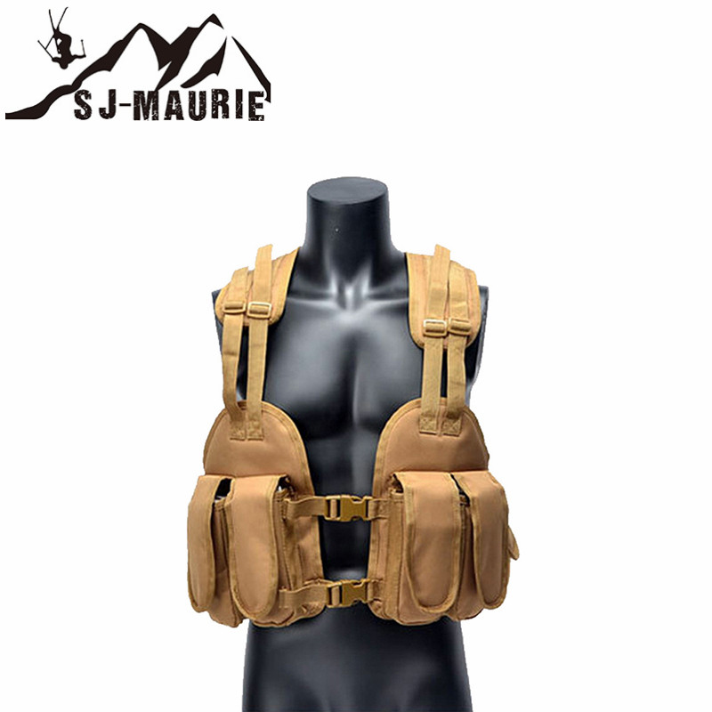 Outdoor Hunting Vest chalecos airsoft  Chest Bag 1