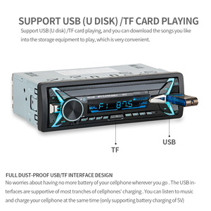 Image 5 - 1012 אלחוטי לרכב משולב Bluetooth רכב MP3 נגן U דיסק נגן 3.5mm AUX FM רדיו אודיו מתאם לרכב מטען