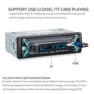 Image 5 - 1012 Draadloze Carkit Multifunctionele Bluetooth Voertuig MP3 Speler U Disk speler 3.5mm AUX FM Radio Audio Adapter Auto lader