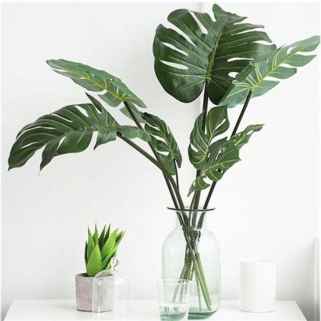 Monstera Palm Artificial Plant