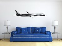Free Shipping DIY Wall Stickers Wholesale And Retail Wall Decor PVC Material Decals Wallpaper Stickers Plane