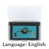 32 Bit Video Game Cartridge Metroidd Fusion Console Card US Version English Language Support Drop Shipping32 Bit Video Game Cartridge Metroidd Fusion Console Card US Version English Language Support Drop Shipping