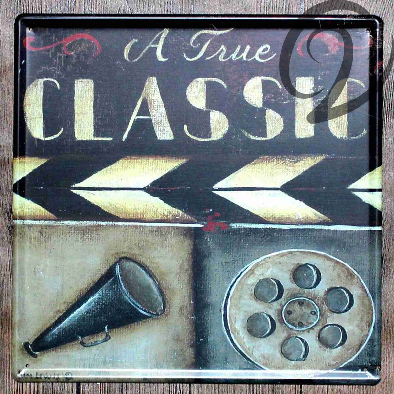A True Classic Vintage Metal Signs Home Bar Pub Cafe Restaurant Decor Metal  Painting Shabby Chic Tin Signs Vintage Home Decor