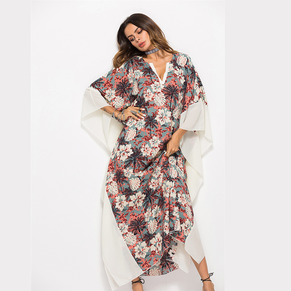 Bath Suits Dress Beach Cover Up Bikini For Kaftans The Summer Outputs Womans Wear Sarongs Women 2018 Crosses Exclusively Robes