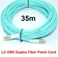 35 m LC-LC LC/UPC-LC/UPC Cable De Fibra Multimodo Dúplex de Fibra Óptica Multimodo OM3 Jumper Patch cable