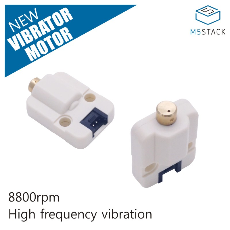 M5Stack Official Mini Vibration Motor Unit 8800 RPM High Frequency Vibration