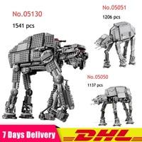 2018 Lepin 05050 05051 05130 Star War The Robot AT AT Model Building Blocks Brick DIY Kids Toys Gift Compatible Legoinglys