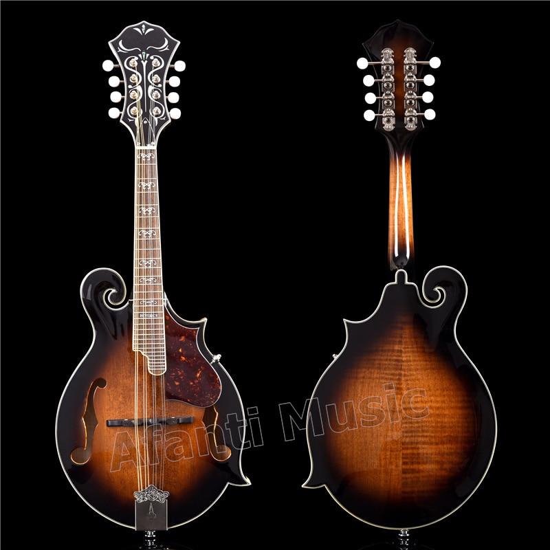 Afanti Solid Spruce Top F Mandolin (AMB-611)
