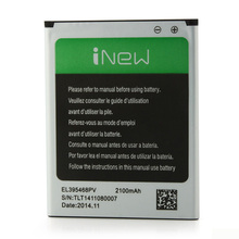 iNew V1 Battery Replacement 2100Mah EL395468PV battery For Inew V1/V7 Smartphone Original inew