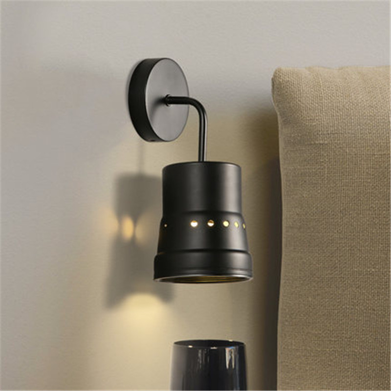 Loft Style Iron Vintage Wall Light Fixtures Industrial Wind Wall Sconce Retro Stair Bedside LED Wall Lamp Indoor Lighting new vintage industrial wall lamps stair dinning room loft black iron wall light home decor sconce e27 led bulb gift 110 240v