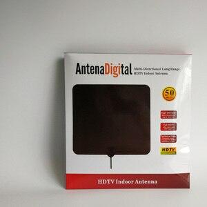 Image 4 - Hdtvアンテナhdデジタル室内テレビアンテナアップグレード2018バージョン50マイル長距離でアンプ信号ブースター