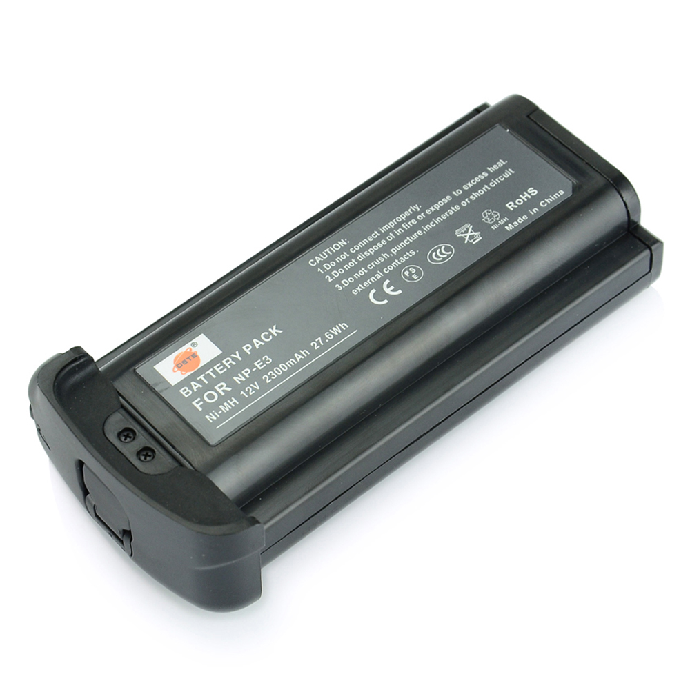 DSTE NP-E3 Rechargeable Ni-MH Battery For Canon 1D Mark II Mark II N 1Ds Mark II Camera