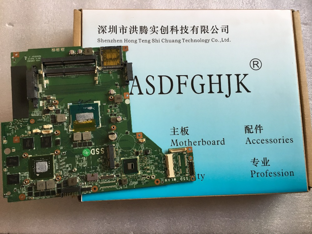 MS 16GF For FOR MSI GE60 Motherboard MS 16GF1 VER:1.1 SR15G Non integrated N15P GT A2 GTX850M