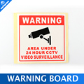 20PCS/Lot Waterproof Sunscreen PVC Home CCTV Surveillance Security Camera Video Sticker Warning Decal Signs 80*80MM