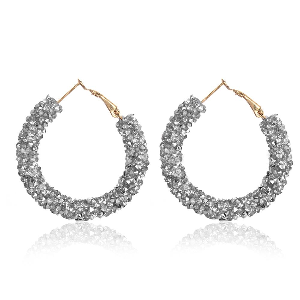 Necklace Women Fashion   Jewelry  Boho  Rhinestone  Chic Glitter Gifts Crystal