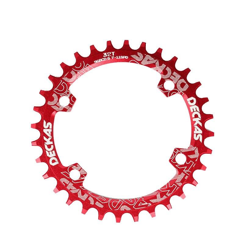 Bike Crank 104BCD Narrow Wide Crankset Single Plate 32T34T36T38T MTB Chainring Bicycle Chainwheel Bike Circle Round Shape (11)