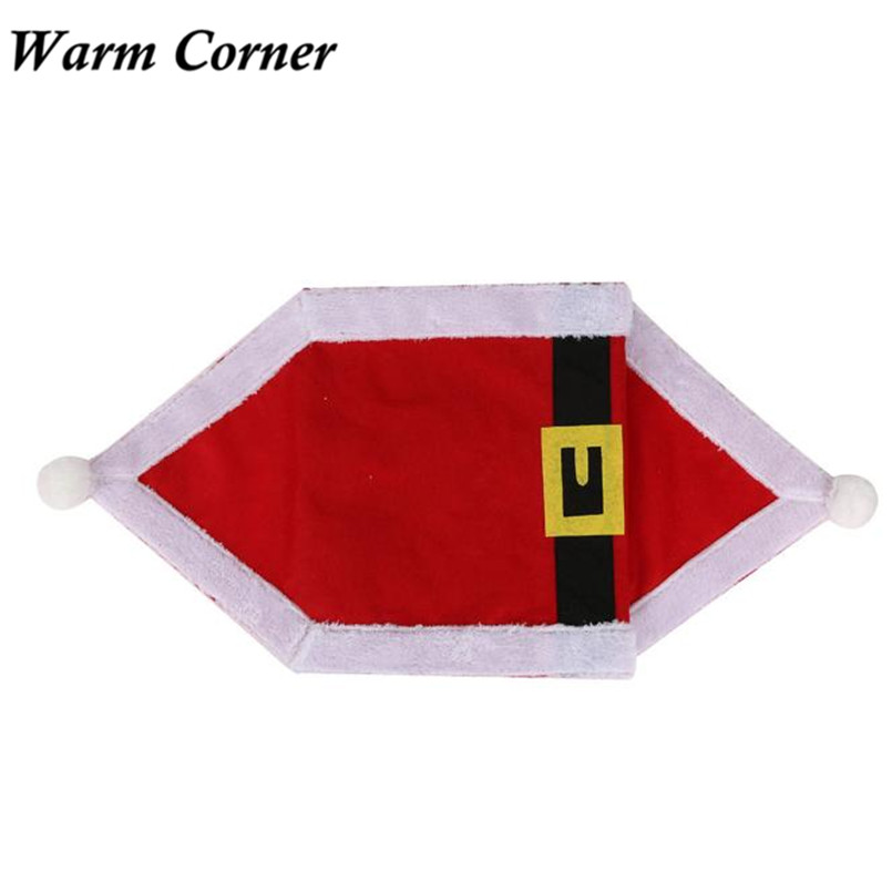 Warm Corner 2 Types High Quality Christmas Table Runner Dresser Tapestry Dining Restaurant Party Decor Gift Hot Sales Nov 4