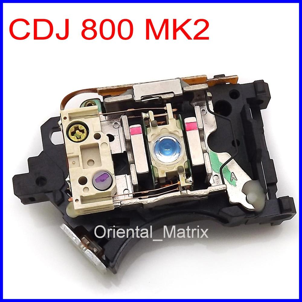 Free Shipping Original CDJ-800 MK2 Laser Lens Lasereinheit CDJ 800 MK2 Optical Pick-up Bloc Optique For Pioneer CDJ800MK2