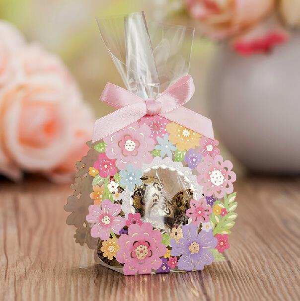 (50pcs/lot) European Order Colorful Flower Favor Lace U0026 Hollow Wedding  Candy Box , Baby Shower, Birthday Party Return Gift Bag On Aliexpress.com |  Alibaba ...
