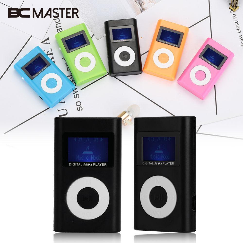 Einfach Bcmaster Usb Mini Digital Mp3 Musik-player Lcd Screen Stereo 2,0 Unterstützung Micro Sd Tf Karte 100% Garantie Unterhaltungselektronik Tragbares Audio & Video