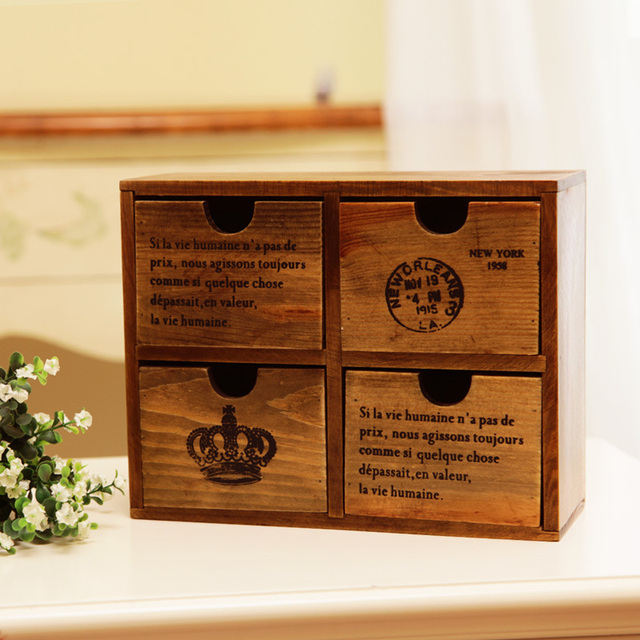Old fashioned storage boxes 5