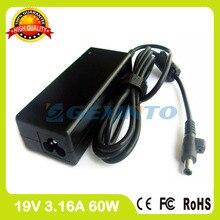 19 v 3.16a 60 watt ac notebook power adapter für samsung ladegerät p430c p430j P459 P460 P461 P467 P469 P478 P480 P480J Q10 Q20 Q208 Q210