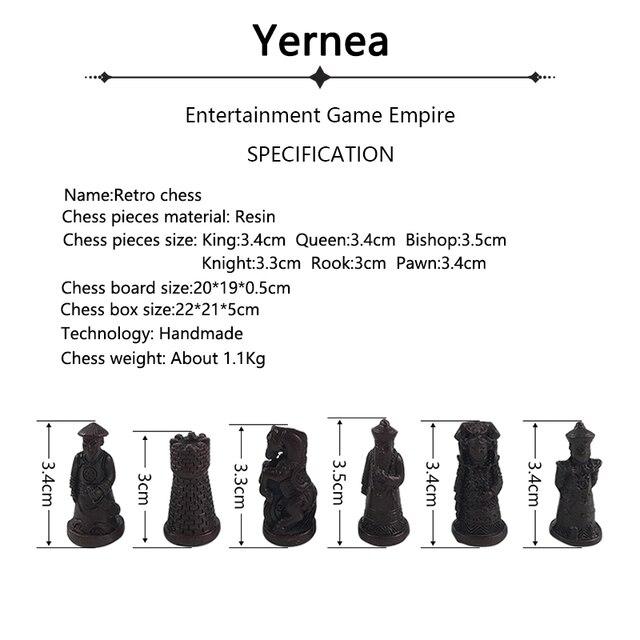 Eensemble d'échecs antiques, ensemble de pièces chinois 2