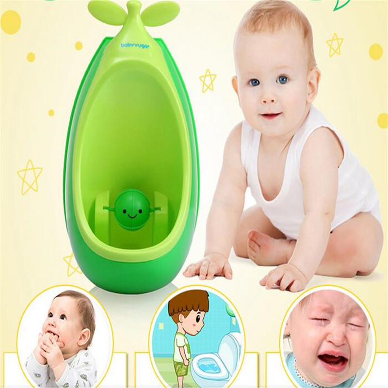Baby Boys Urinal Plastic Pea Baby Potties Children Kid Protable Training Toilet Seat Wall-hung Chair for Infant Portable Urinal