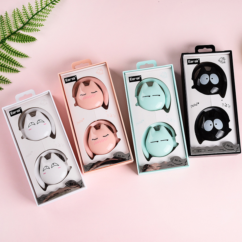EG-01 Trend Type Headphones Cartoon Music Headphones With Headset Gaming Headset For Cell Telephone Laptop computer Desktop Pill Telephone Earphones & Headphones, Low cost Telephone Earphones & Headphones, EG...