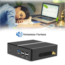 Fanless Mini Computer Celeron N2830 J1800 Dual Core Mini PC Windows 10 Celeron N2930 J1900 Quad