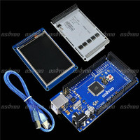 Mega2560 3 2 TFT LCD Shield Touch Screen SD Reader For Arduino 2560 Free Shipping Drop