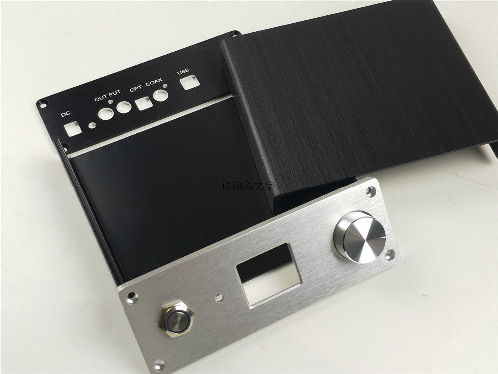 Mini สำหรับ ES9038Q2M DAC แชสซี TFT + หน้าต่างแสดงผล LED สีน้ำเงินเปิด/ปิดสวิทช์ปุ่ม-ใน เครื่องขยายเสียง จาก อุปกรณ์อิเล็กทรอนิกส์ บน AliExpress - 11.11_สิบเอ็ด สิบเอ็ดวันคนโสด 2