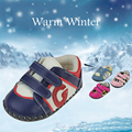 Winter Baby First Walker Shoes Newborns Boys Girls Warm Leather Leopard Sneakers Rubber Sports Footwear Soccer Shoes 70A1035