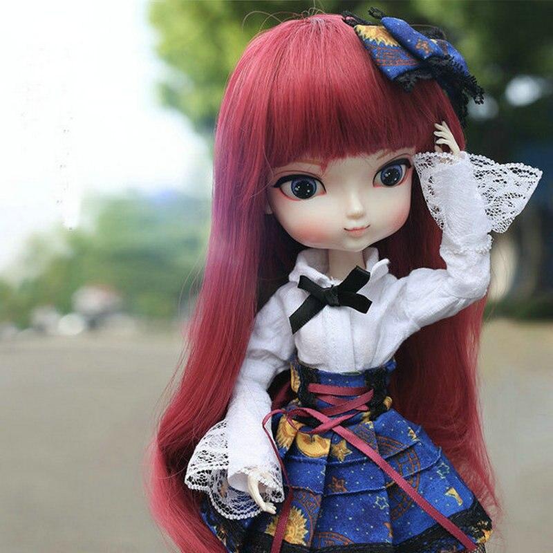 35 cm kawaii mode fille poupées changer visage et main Bjd 1/6 poupée articulée enfants jouets pour filles cadeau d'anniversaire