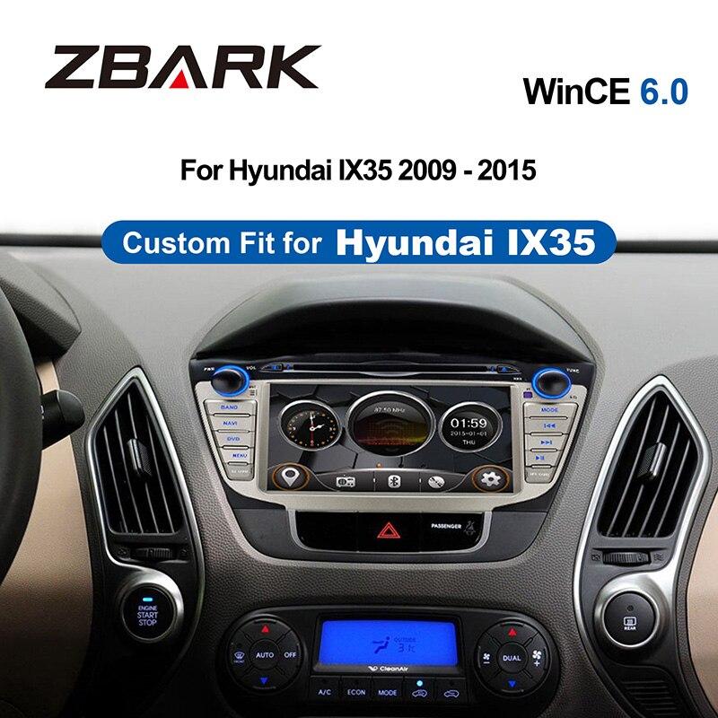 Radio GPS Mp4-Head-Unit Dvd-Player Hyundai Ix35 2-Din 7inch 2009 Navigaition MP3