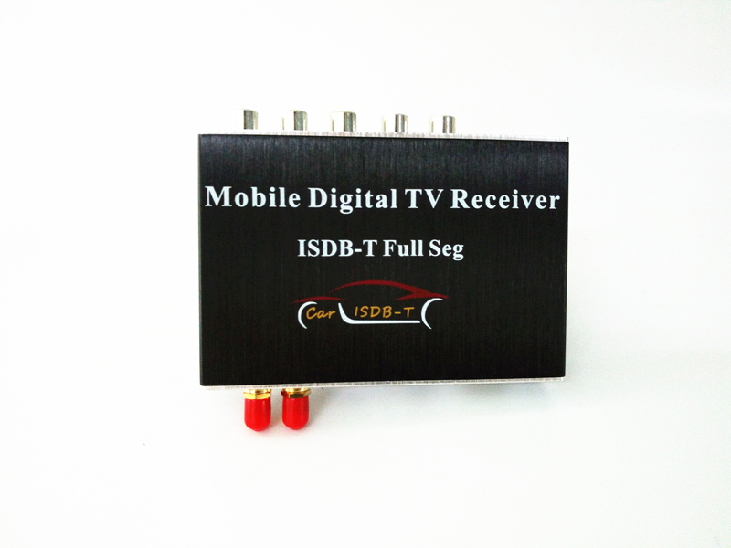 140-190km/h Car Mobility FULL SEG ISDB-T Digital Dual Antennas TV Tuner Receiver Box with USB HDMI Slot for Brazil,Philippines isudar digital tv receiver for car tv tuner isdb t 2 way video out put for japan brazil south america free shipping