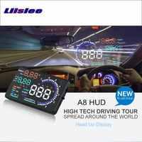 Liislee Auto Informationen Projektor Bildschirm Für Ford Explorer/Escape Sicher Fahren Refkecting Windschutzscheibe HUD Head Up Display