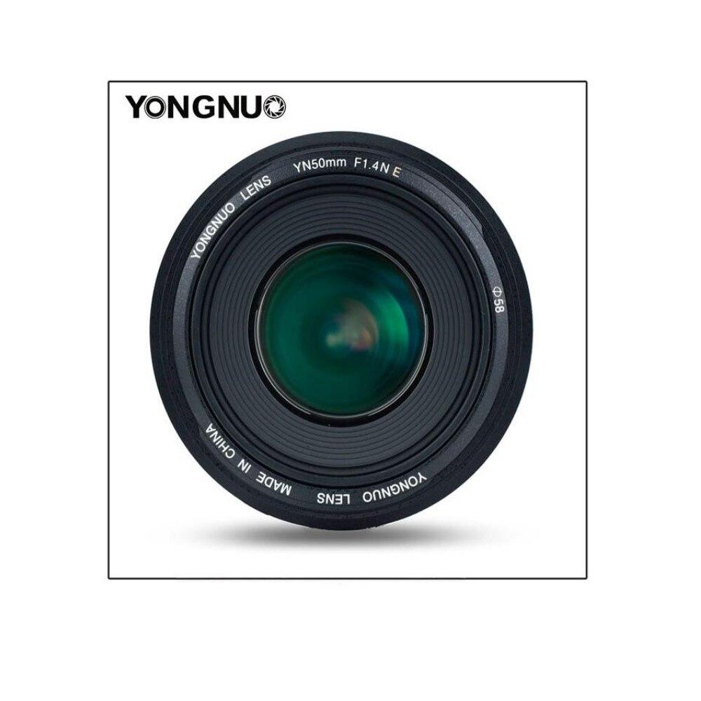 YONGNUO YN50MM F1.4N E Standard Premier Objectif AF/MF pour Nikon D7500 Nikon D7500 D7200 D7100 D7000 D5600 D5500 d5300 D5200 D5100