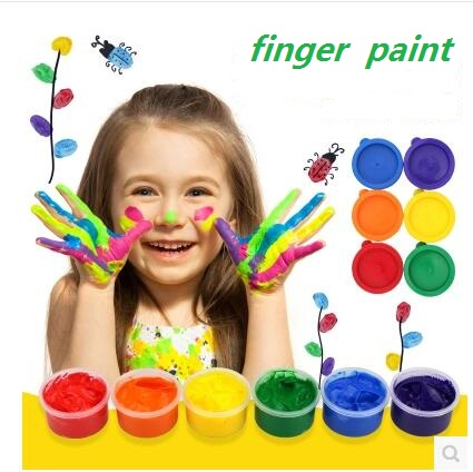 New style Finger painting Drawing Toys children educational toy finger painting tool kit birthday gifts mud painting watercolor elera 20pcs lot finger daubers foam ink chalk inking staining altering any craft project finger painting drawing with box