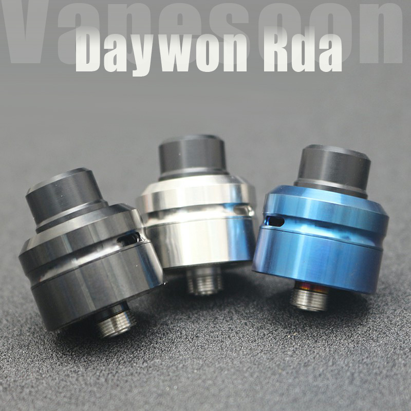 New stock Daywon <font><b>rda</b></font> atomizer <font><b>22mm</b></font> diamater Vaporizer Atomizer tank fit 510 thread vape vs <font><b>goon</b></font> 25 image