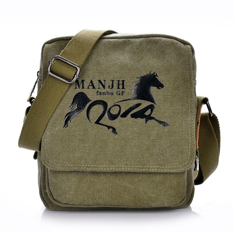 Fashion Canvas Men Messenger Bags Small Printing Crossbody For Women Casual Shoulder Beach Bag Female Handbags Satchel Male