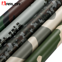 60x500cm PVC Self adhesive Camouflage Car Sticker Wrap Vinyl Film Digital Camo Army Military Green Automobiles Motorcycle Decal