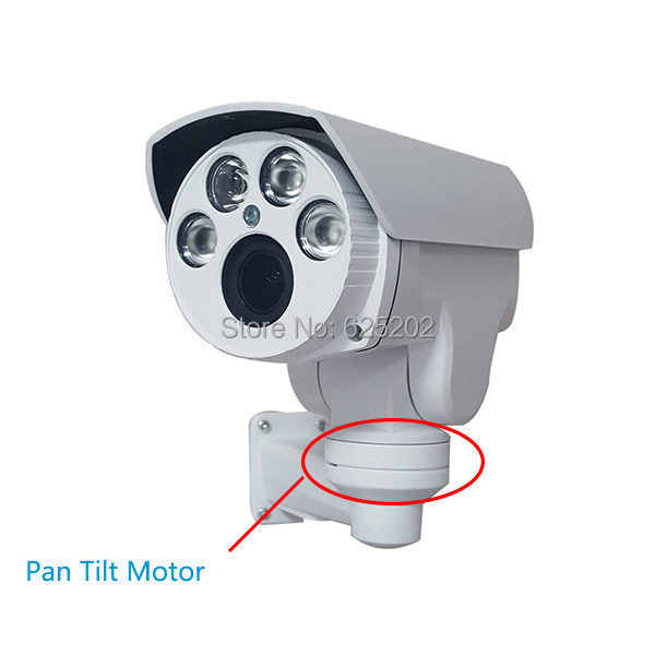 Analog High Definition 1400TVL MINI PTZ Bullet Camera IR Waterproof 4X Auto Focus Zoom 2.8-12mm HD Lens