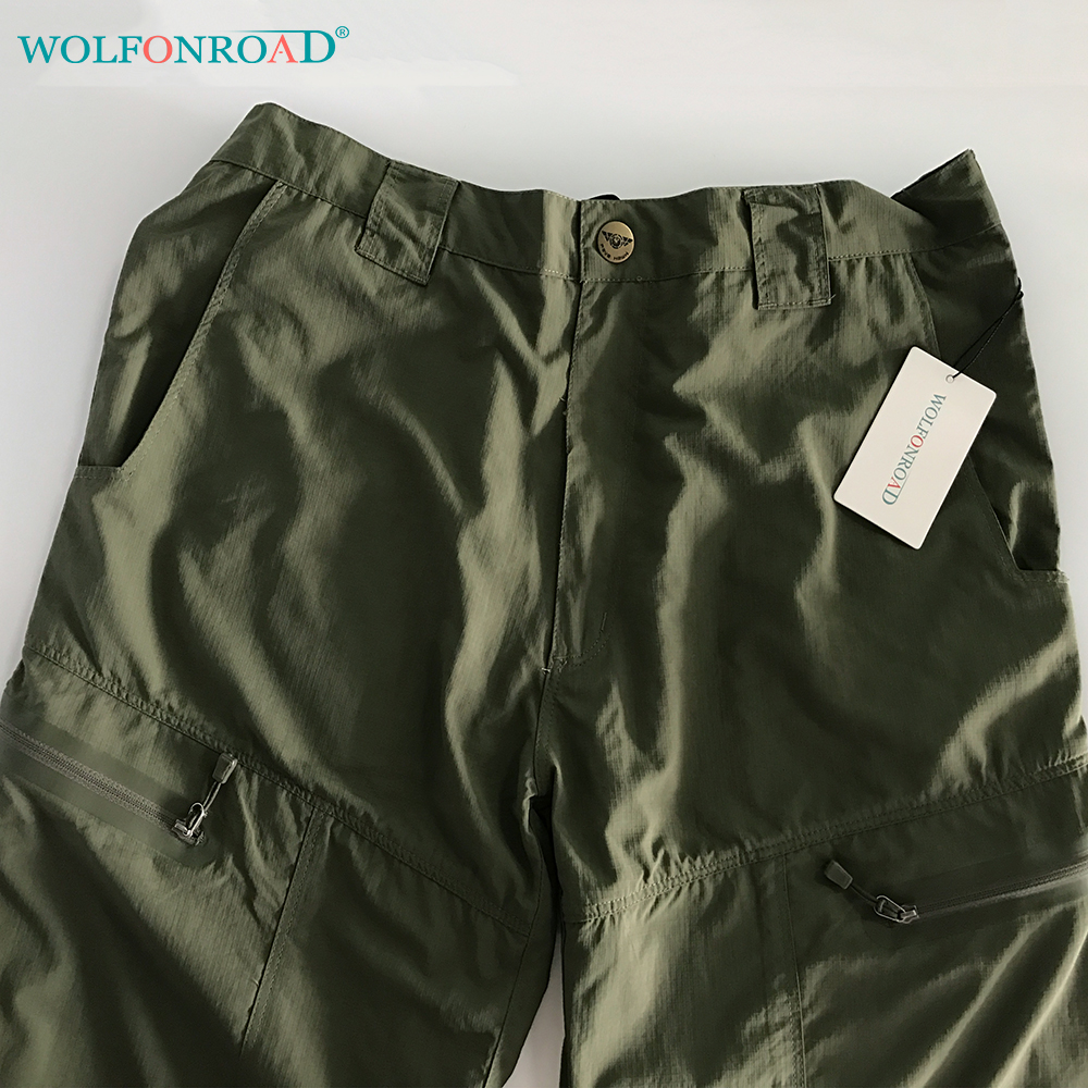 de47e032c3b WOLFONROAD Summer Men Quick Dry Pants Military Tactical Pants Hiking  Camping Trousers Breathable Thin Men Hunting Pants L PLY 12-in Hiking Pants  from Sports ...
