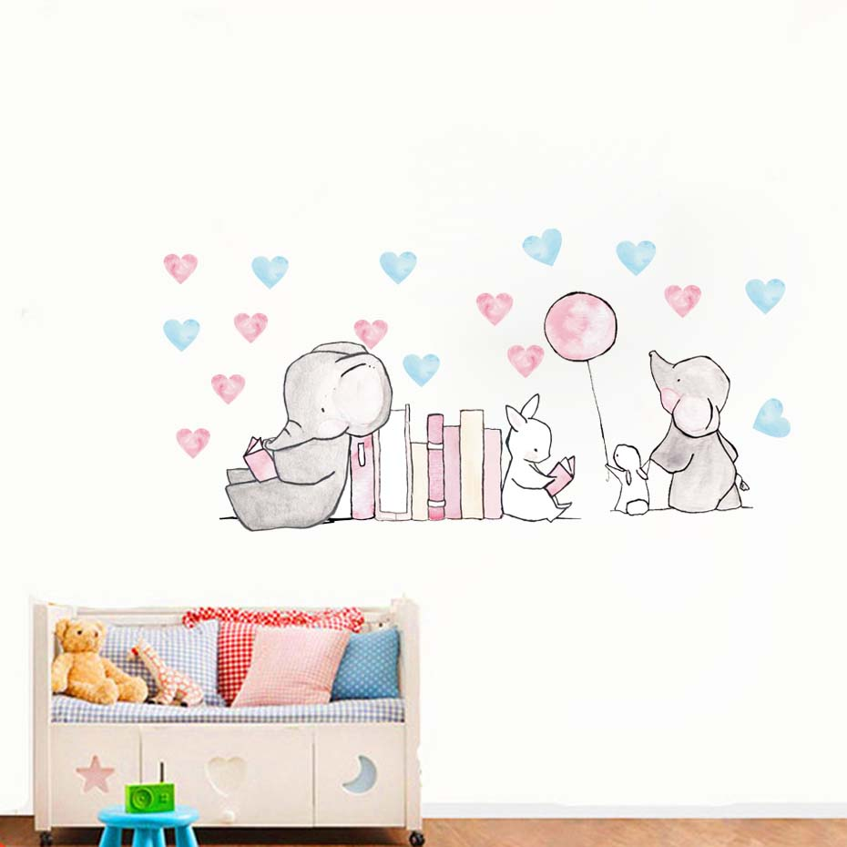 ZOOYOO® Pirate Captain Couple Cute Monkeys Wall Stickers For Kids Rooms Nursery